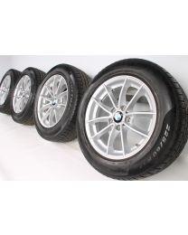 BMW Winterkompletträder X3 F25 X4 F26 17 Zoll 304 V-Speiche RDCi silber