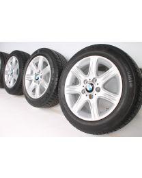 BMW Winterkompletträder 1er F20 F21 2er F22 F23 16 Zoll 377 Sternpeiche RDC