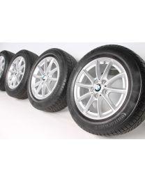 BMW Winterkompletträder 2er AT F45 GT F46 16 Zoll 471 V-Speiche RDC silber