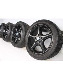 BMW Winterkompletträder Z3 E36 17 Zoll Rundspeichenstyling 18 schwarz