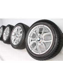 BMW Winterkompletträder X3 F25 X4 F26 18 Zoll 308 Y-Speiche RDC