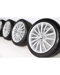 BMW Winterkompletträder 5er G30 G31 19 Zoll 633 Vielspeiche RDC silber