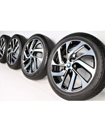 BMW Winterkompletträder i3 19 Zoll 428 Turbinenstyling RDC bicolor