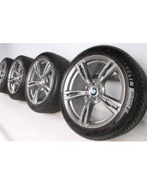BMW Winterkompletträder M5 F90 19 Zoll 705 M Doppelspeiche RDC ferricgrey