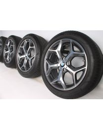 BMW Sommerkompletträder X1 F48 X2 F39 18 Zoll 569 Y-Speiche RDC bicolor