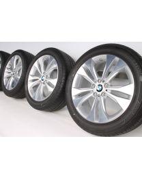 BMW Sommerkompletträder X1 F48 18 Zoll 567 Doppelspeiche RDC bicolor