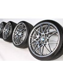 BMW Sommerkompletträder M3 F80 M4 F82 F83 20 Zoll 666 M Sternspeiche RDC bicolor