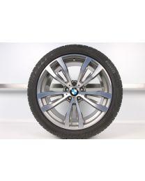 1x Original BMW X5 F15 X6 F16 20 Zoll Winter Komplettrad 469 M Bicolor Hinterachse