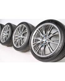 BMW Sommerkompletträder 6er G32 7er G11 G12 20 Zoll 649 i V-Speiche Individual RDC bicolor