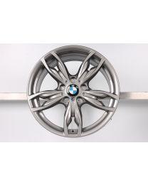Original BMW 1er F20 F21 2er F22 F23 18 Zoll Alufelge 436 M Doppelspeiche Hinterachse