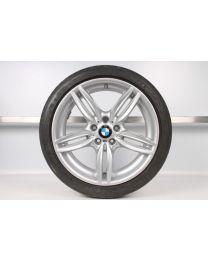 Original BMW 5er F10 / 6er F12 F13 19 Zoll Sommer Komplettrad 351 M Doppelspeiche Vorderachse
