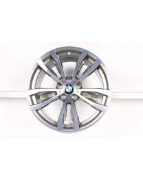BMW Alufelge X5 F15 X6 F16 20 Zoll 469 M Doppelspeiche bicolor 7846790 10J