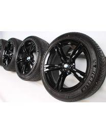 BMW Winterkompletträder M5 F90 19 Zoll 705 M Doppelspeiche RDC schwarz
