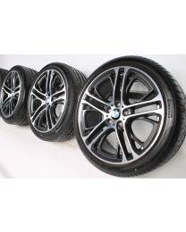 BMW Sommerkompletträder X3 F25 X4 F26 20 Zoll 310 M Doppelspeiche RDC bicolor