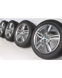 BMW Winterkompletträder X1 F48 X2 F39 18 Zoll 570 M Doppelspeiche RDC bicolor