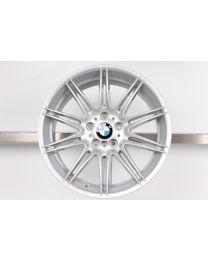 1x Original BMW 3er E90 E91 E92 E93 19 Zoll Alufelge 225 M Doppelspeiche Silber HA