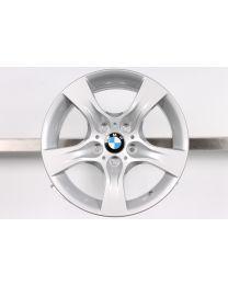 1x Original BMW 3er E90 E91 E92 E93 17 Zoll Alufelge 339 Sternspeiche Silber