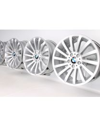 ORIGINAL BMW 3er E90 E91 E92 E93 18 Zoll Alufelgen 196 Radialspeiche
