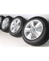 BMW Winterkompletträder 5er F10 F11 6er F06 F12 F13 17 Zoll 327 Sternspeiche RDC