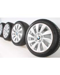 BMW Winterkompletträder 1er F20 F21 2er F22 F23 17 Zoll 381 Turbinenstyling RDCi Silber