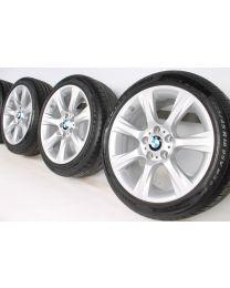 BMW Winterkompletträder 3er F30 F31 4er F32 F33 F36 18 Zoll 396 Sternspeiche RDC