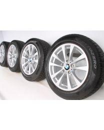 BMW Winterkompletträder 3er GT F34 17 Zoll 395 V-Speiche RDC silber