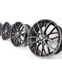 BMW Alufelgen 3er F30 F31 4er F32 F33 F36 20 Zoll 405 M Doppelspeiche bicolor