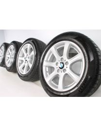 BMW Winterkompletträder 3er GT F34 17 Zoll 394 Sternspeiche RDC silber