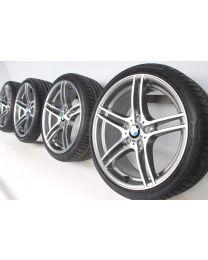 BMW Sommerkompletträder 3er E90 E91 E92 E93 19 Zoll 313 M Doppelspeiche RDC