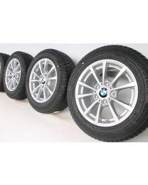 BMW 3er F30 F31 4er F32 F33 F36 Winterkompletträder 16 Zoll 390 V-Speiche
