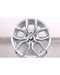 1x Original BMW X3 F25 X4 F26 18 Zoll Alufelgen 308 Y-Speiche