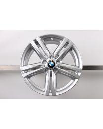 1x ORIGINAL BMW 1er F20 F21 / 2er F22 F23 18 Zoll Alufelge 386 M Doppelspeiche