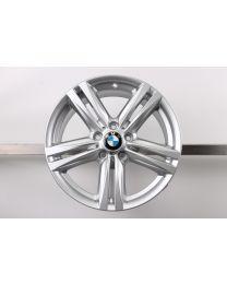 1x Original BMW 1er F20 F21 2er F22 F23 18 Zoll Alufelge 386 M Doppelspeiche 7,5J ET45